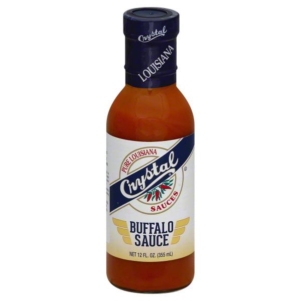 Crystal Original Wing Sauce, 12 oz