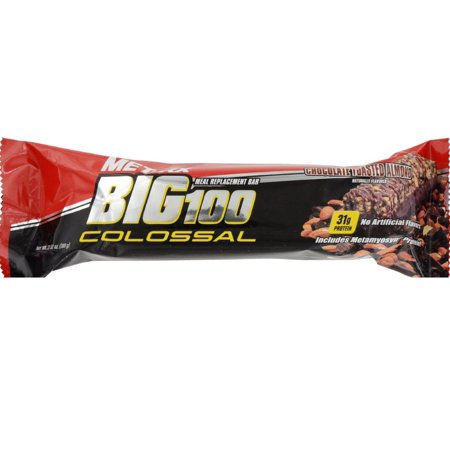 Met Rx Big 100 Colossal Chocolate Toasted Almond Meal Replacement Bar  3 52 Oz
