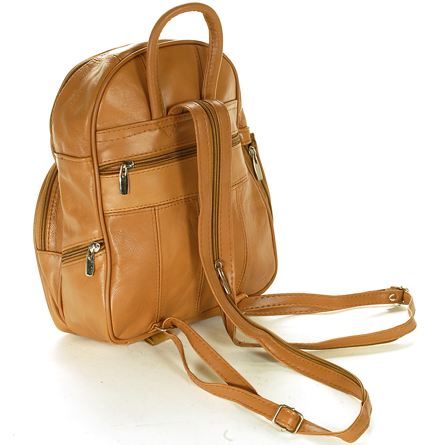 New Leather Backpack Purse Sling Bag Back Pack Shoulder Handbag ...