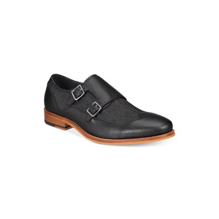 - Bar Iii Mens Rebel Leather Buckle Casual Oxfords