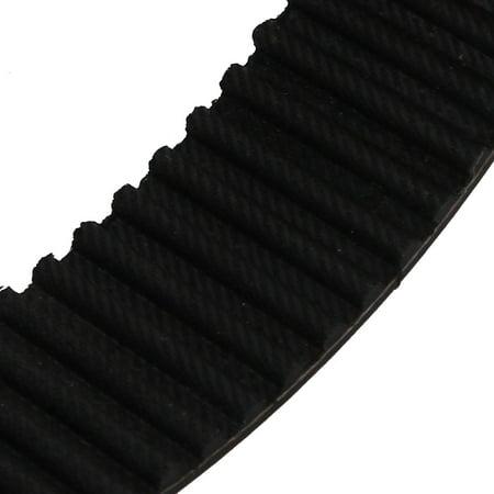 HTD5M 61 Teeth Engine Timing Belt Rubber Geared-Belt 305mm Girth 25mm Width - image 2 de 2