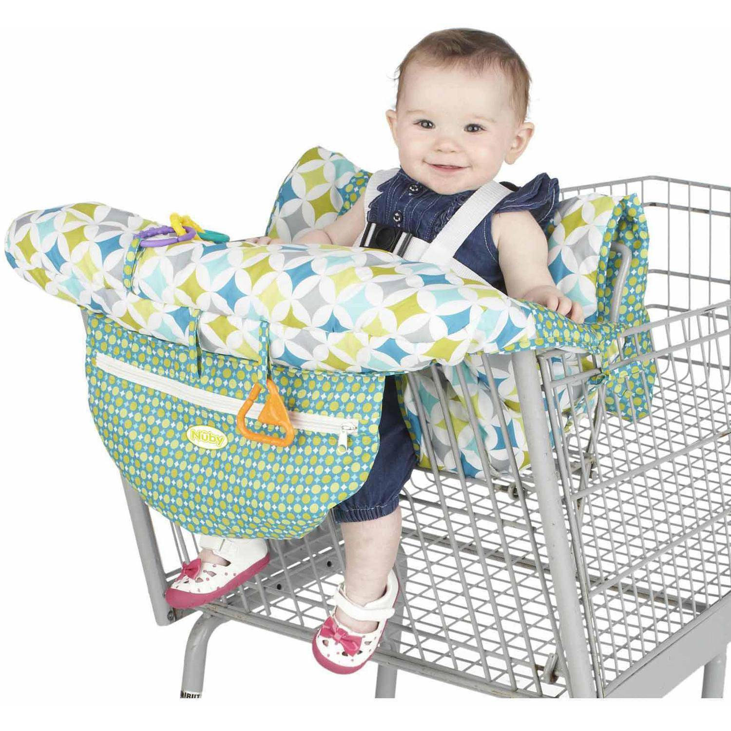 Nuby Shopping Cart and High Chair Cover Walmart