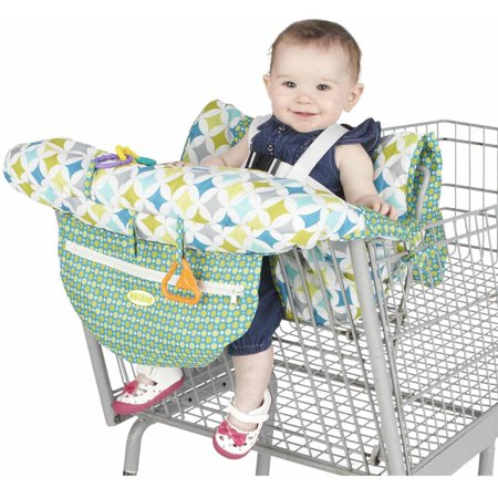Nuby shopping cart and high chair cover for Chair shopping