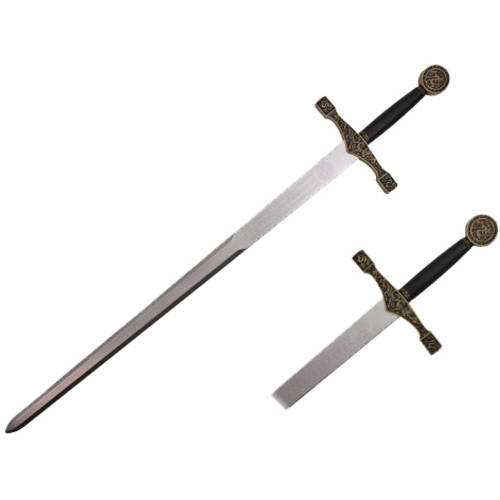 "Hero's Edge Foam Long Excalibur Sword, 45"" by Neptune Trading, Inc."