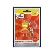 The Simpsons Lisa Bendable Key Chain