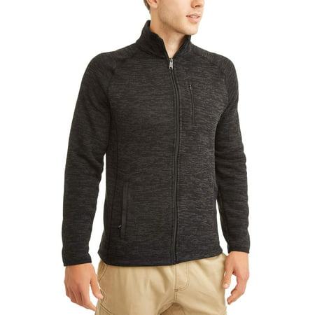 Men's High Pile Fleece Zip Up Jacket - Mens Ringmaster Jacket