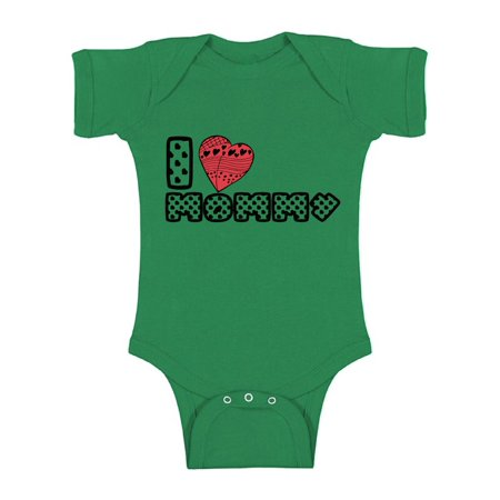Awkward Styles I Love Mommy Bodysuit Red Heart One Piece Best Mom Ever Newborn Babies Clothes Love Bodysuit I Love Mommy Baby Girl Clothing I Love Mommy Baby Boy Clothes Kids Birthday