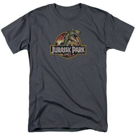 Jurassic Park/Retro Rex S/S Adult 18/1   Charcoal     - Atelier Charcoal