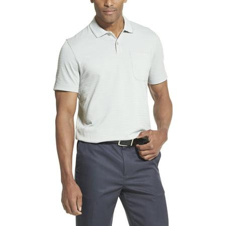 Van Heusen Men's Big & Tall Flex Striped Short Sleeve Polo