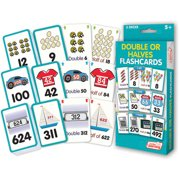 Junior Learning Double or Halves Flashcards, 1-1000