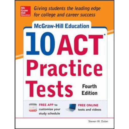 Mcgraw Hill Education 10 Act Practice Tests