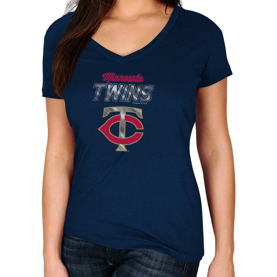 MLB Minnesota Twins Plus Size Women's Basic Tee