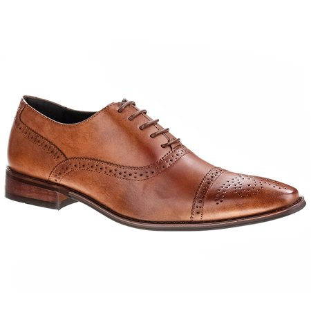 UV Signature Men's Brogue Cap Toe Dress -