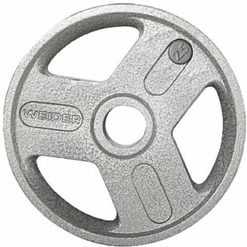 Weider Olympic Hammertone Weight Plate, 2.5-50 lbs.