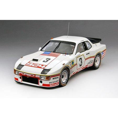 1980 Porsche 924 GT #3 Porsche System Le Mans 24Hr D. Bell- A. Holber Limited to 500pcs 1/18 by True Scale Miniatures