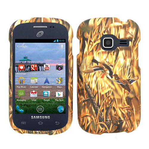 Snap-On Protector Case for Samsung R720 / Admire / Vitality (Hunter Series with Ducks)