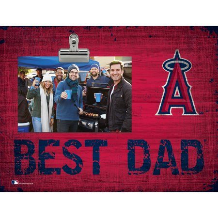 Los Angeles Angels 8'' x 10.5'' Best Dad Clip Frame - No