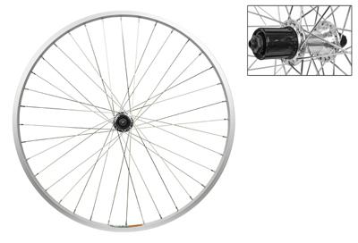 Wheel Rear 26x1.5 Weinmann 519 Black Quick Release 5//7s 36BK