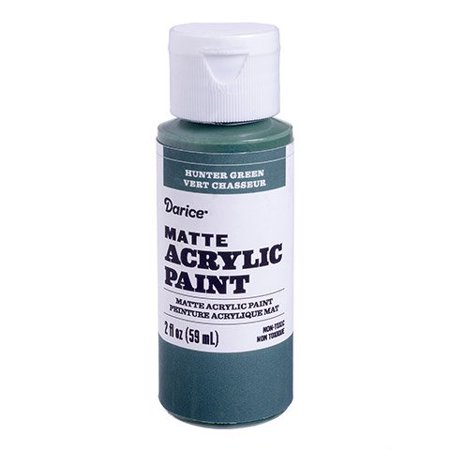 Squirt out just what you need of this matte acrylic paint thanks to the flip-top bottle. The hunter green hue blends well with warm autumn colors. ()