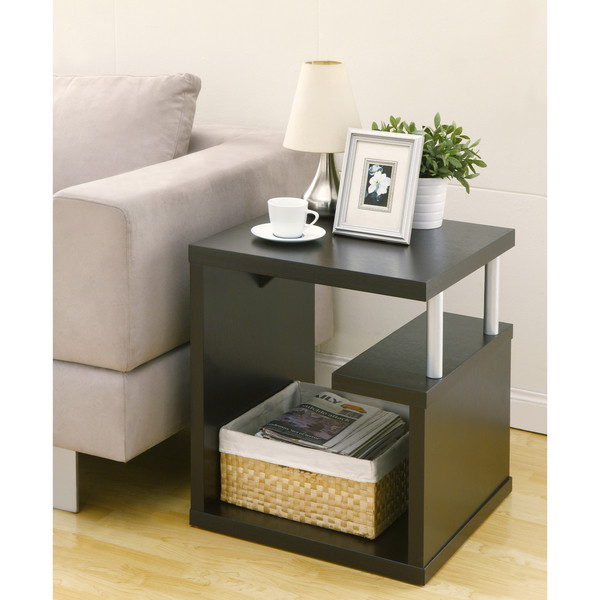 Furniture of America Level End Table, Espresso