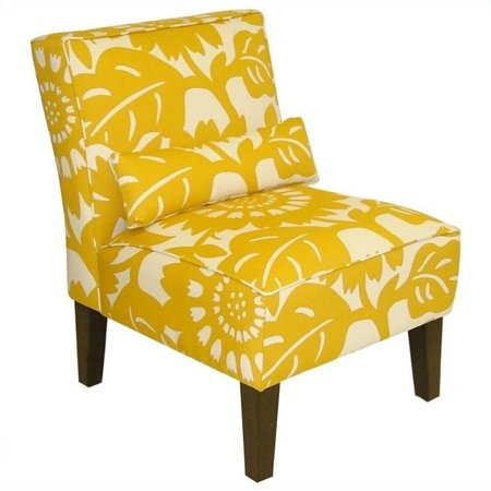 Superb Skyline Furniture Armless Chair In Sungold Squirreltailoven Fun Painted Chair Ideas Images Squirreltailovenorg