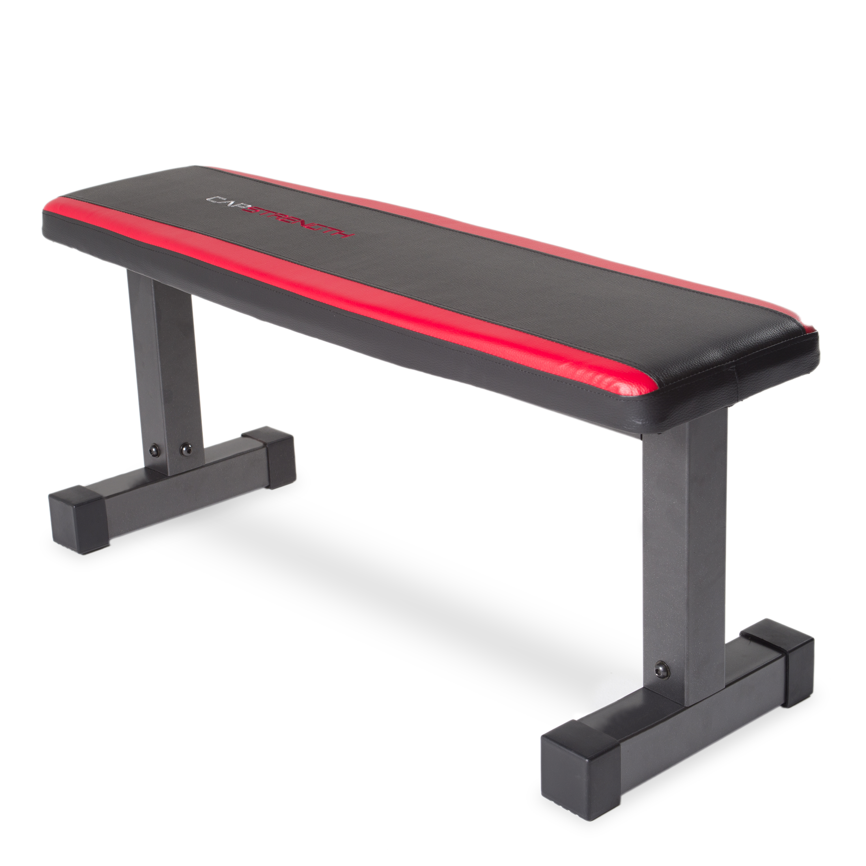 CAP Strength Flat Bench with Memory Foam Pad