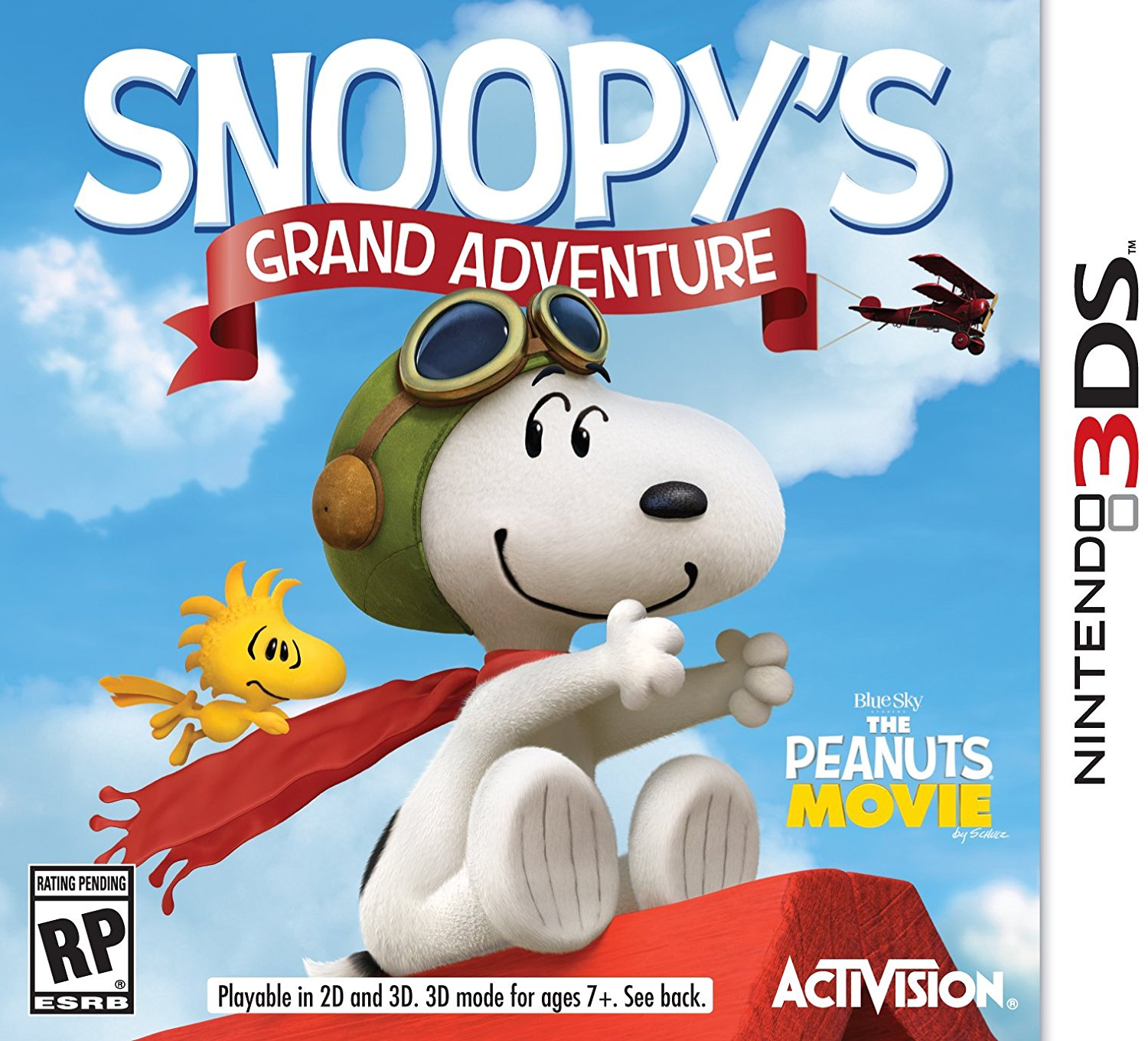 Snoopy's Grand Adventure - Nintendo 3DS, Lead Snoopy on a grand adventure through worlds full of imagination to help him find Charlie Brown and all of his friends! By Activision