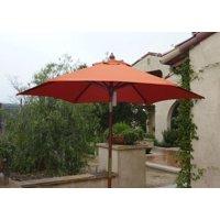 3527a439732b8 Product Image Formosa Covers 7ft wood market umbrella Tilt mechanism -  Terracotta