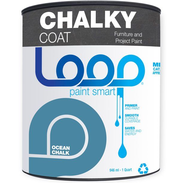 Loop Premium Chalky Coat, Ocean 1 Quart
