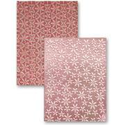 Splendid - Spellbinders M-Bossabilities A2 Card Embossing Folder