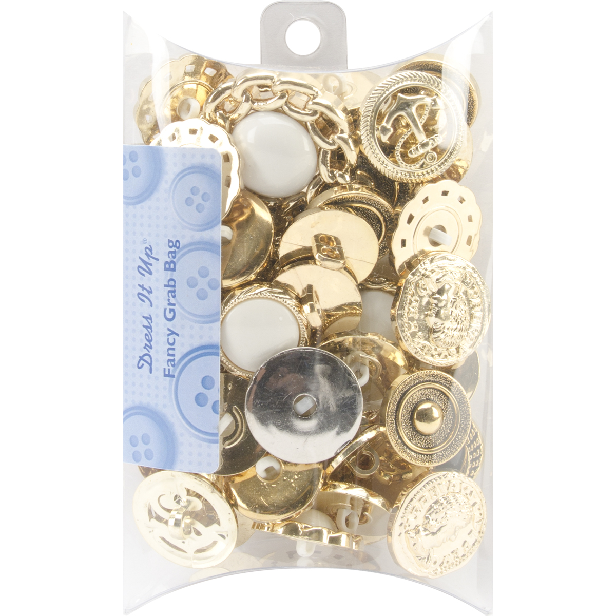 Dress It Up Embellishments Grab Bag-Fancy (Gold & Silver)