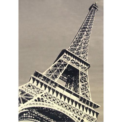 Terra Paris Rectangle Area Rug Grey/Black/Cream