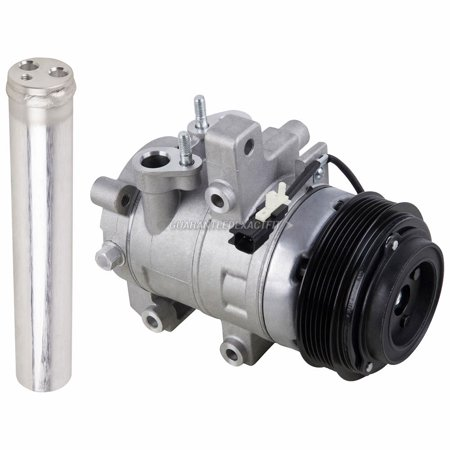 For Ford Mustang GT S197 2011 2012 2013 2014 AC Compressor w/ A/C Drier (Mustang Accessories 2013)