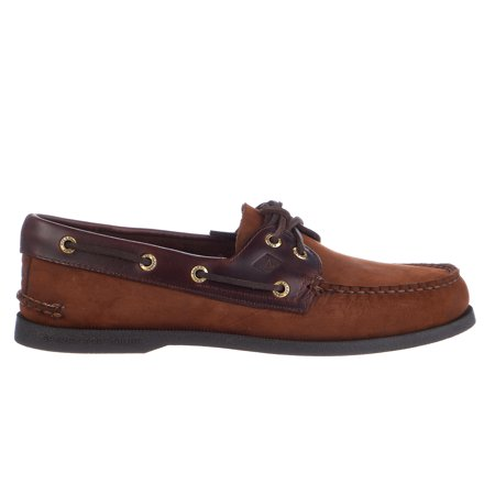 Sperry Top-Sider Authentic Original Mens Buck Brown Boat Shoes