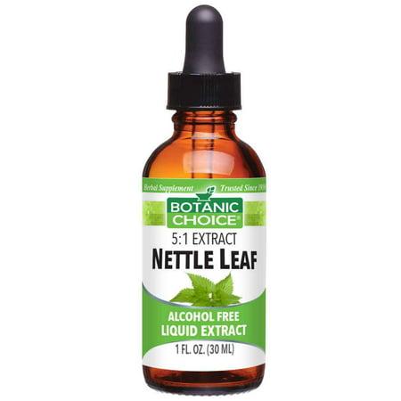 Botanic Choice Nettle Leaf Liquid Extract,1 oz (Nettle Leaf Single)