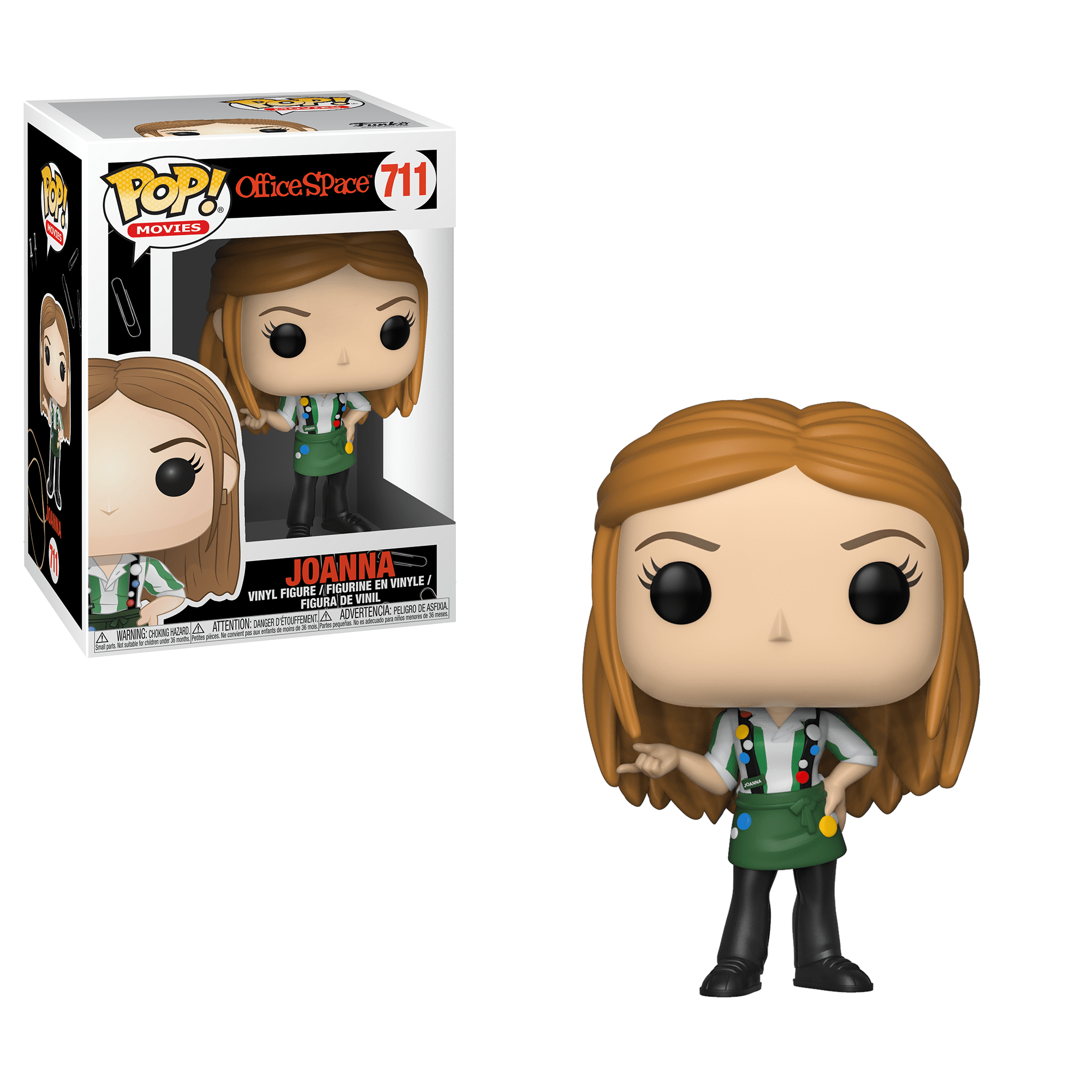Funko POP! Movies Office Space: Joanna (with Flair), Vinyl Figure