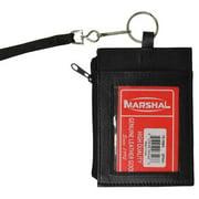 New genuine leather neck ID holder 761
