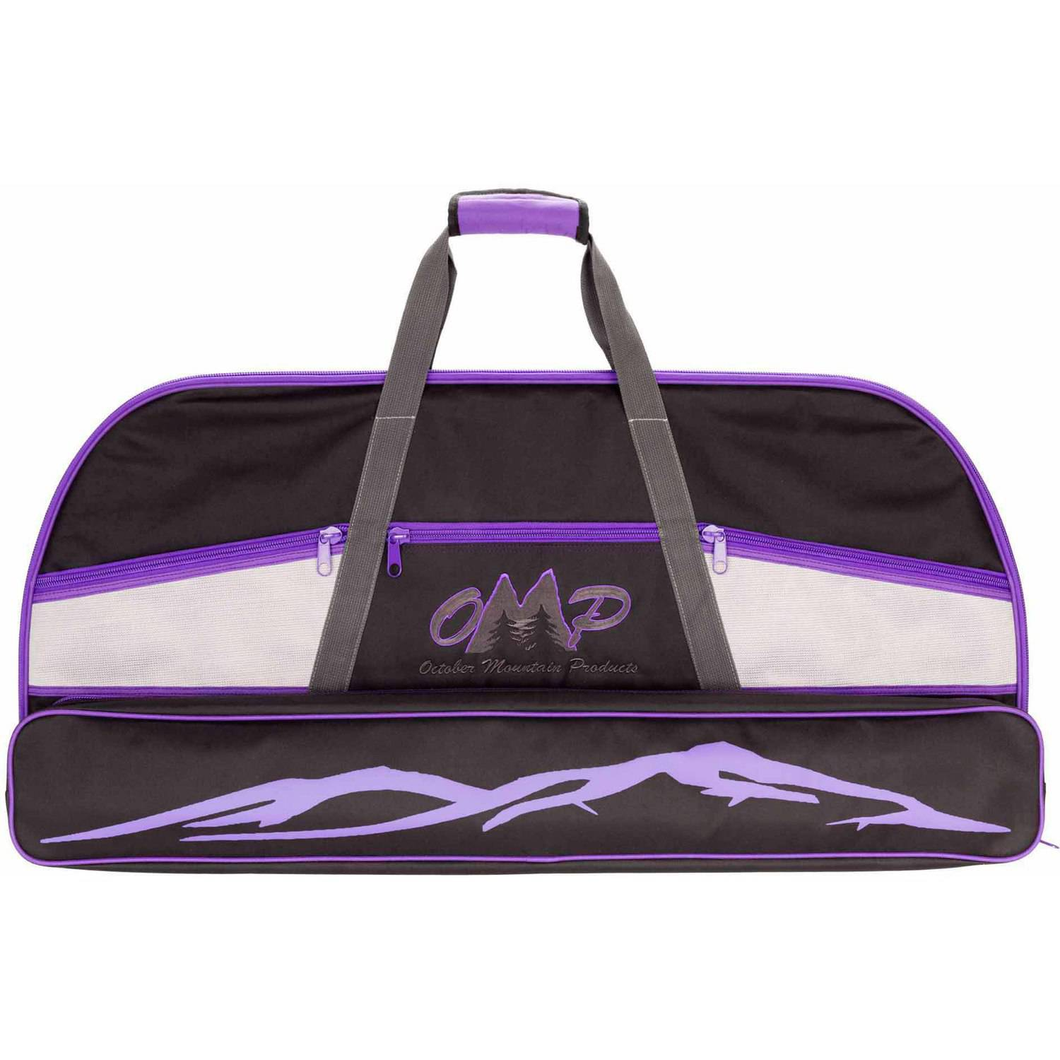 "October Mountain 13039 36"" Bow Case, Black/Purple"