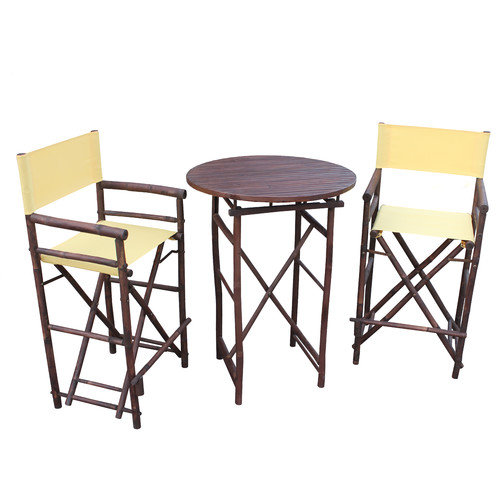 ZEW Inc 3 Piece Dining Set