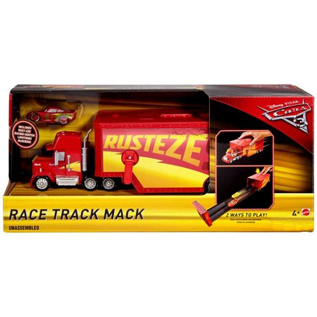 Disney Cars Cars 3 Race Track Mack Playset