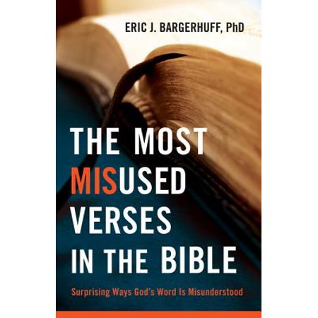 Most Misused Verses in the Bible, The - eBook](Footprints In The Sand Bible Verse)
