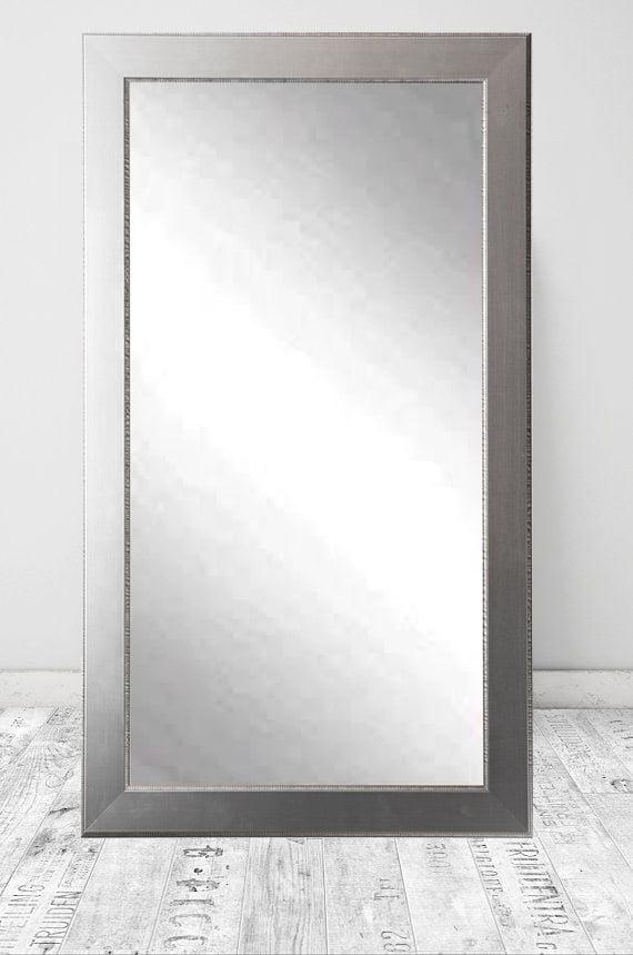 American Custom Made Vintage Home Silver 32 x 66 Floor Mirror by American Custom Made