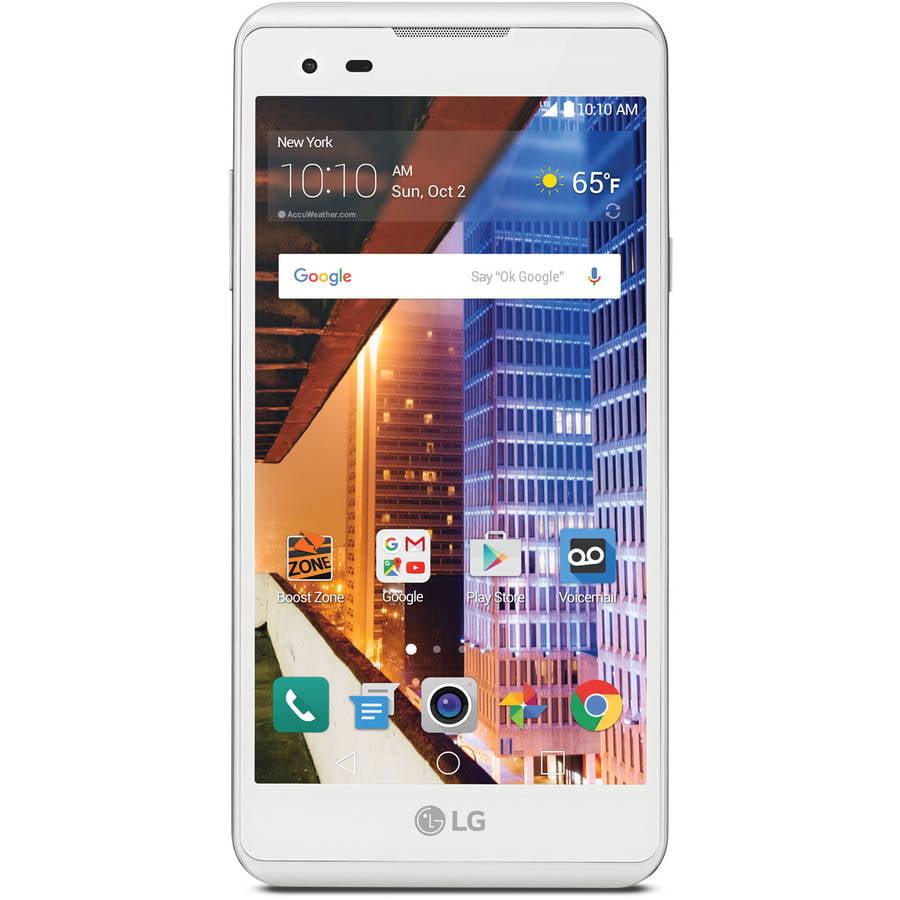 Boost Mobile LG Tribute HD 16GB Prepaid Smartphone, White