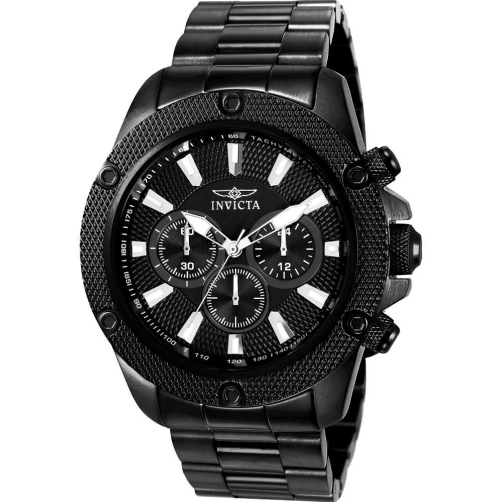 Invicta Men's Pro Diver 48mm Black Steel Bracelet & Case ...