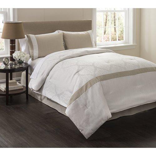 Wildon Home Angelica 4 Piece Comforter Set