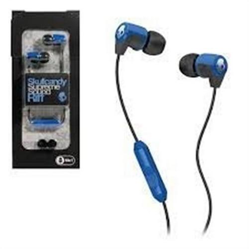 Refurbished Skullcandy Supreme Sound Riff Headset for Phones  - Blue/Black