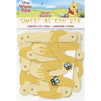 Unique Industries 30372760 Winnie the Pooh Happy Honeycomb Party Banner
