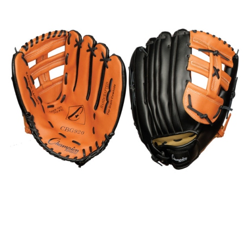 Champion Sports Baseball/Softball Fielders Glove, Leather - 13''
