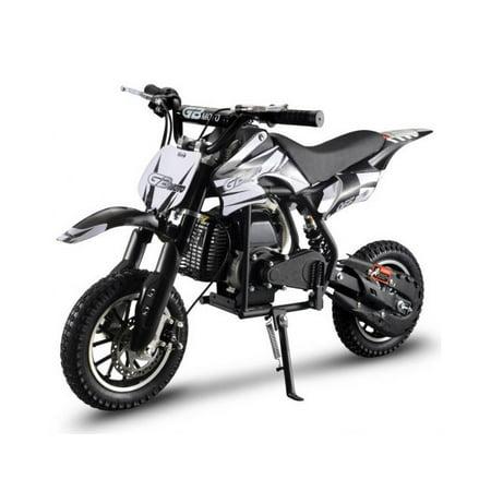 GBmoto 49CC 2-Stroke Kids Gas Power Mini Dirt Bike Kids Dirt Bike Off Road Motorcycle, Kids Pit