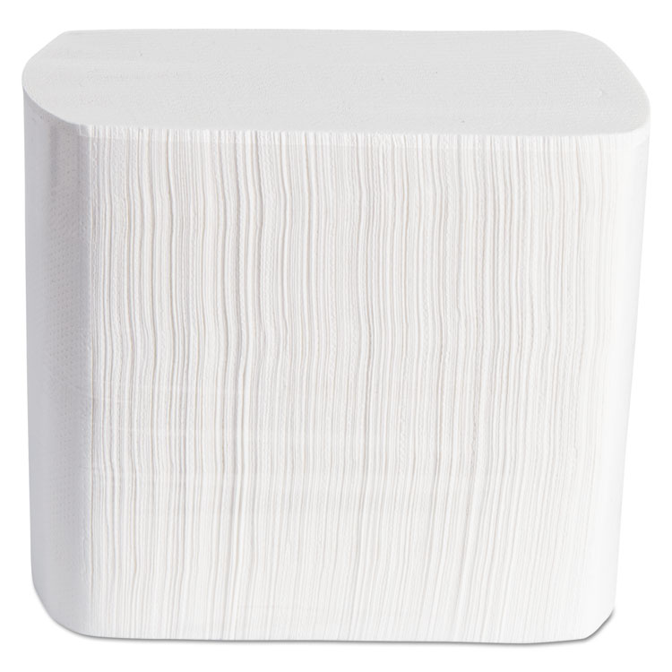 Dispenser Napkins, Interfolded, 2-Ply, 6 1/2 X 8 1/4, White, 500/pack, 12 Pk/ctn